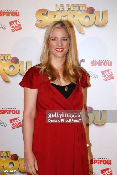 Actress of the movie Natacha Regnier attends the 'Le Petit Spirou' Paris Premiere at Le Grand Rex on September 10 2017 in Paris France