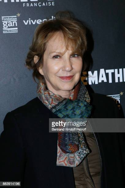 Actress of the movie Nathalie Baye attends the 'Les Gardiennes' Paris Premiere at la cinematheque on December 1 2017 in Paris France
