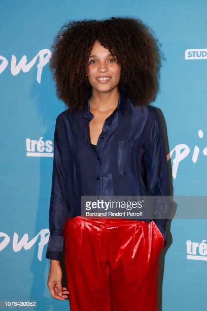 """Actress of the movie Stefi Celma attends the """"Pupille"""" Premiere at Cinema Pathe Beaugrenelle on November 27, 2018 in Paris, France."""