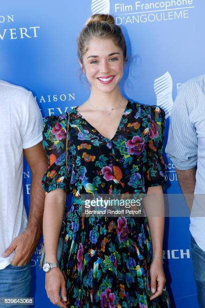 Actress of the movie Surface de reparation Alice Isaaz attends the 10th Angouleme FrenchSpeaking Film Festival Day Five on August 26 2017 in...