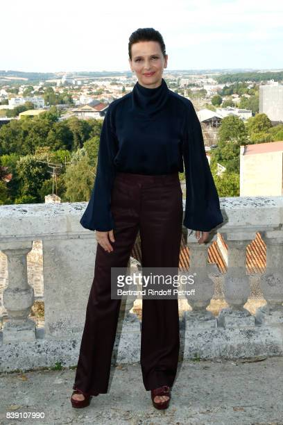 "Actress of the movie ""Un beau soleil interieur"", Juliette Binoche attends the 10th Angouleme French-Speaking Film Festival : Day Four on August 25,..."