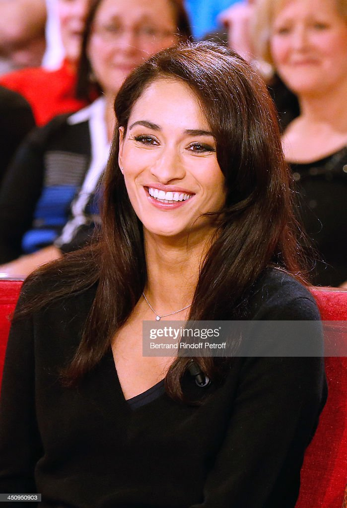 Actress of Theater piece 'Sonate d'automne' Rachida Brakni attends the 'Vivement Dimanche' French TV Show, held at Pavillon Gabriel on November 20, 2013 in Paris, France.