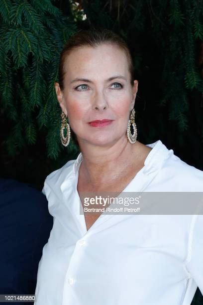 Actress of Voyez comme on danse Carole Bouquet attend the 11th Angouleme FrenchSpeaking Film Festival Day Two on August 22 2018 in Angouleme France