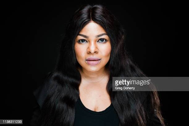 Actress Oghenekaro Itene attends the Welcome to Cannacity 'She's Smokin' Event on April 20 2019 in Los Angeles California
