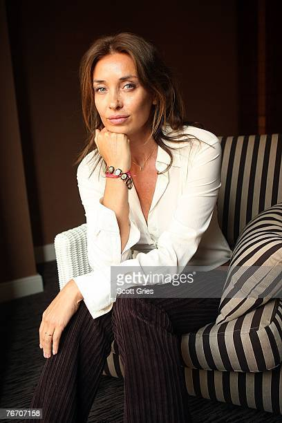 """Actress Olatz Lopez Garmendia from the film """"The Diving Bell And The Butterfly"""" poses for a portrait in the Chanel Celebrity Suite at the Four Season..."""