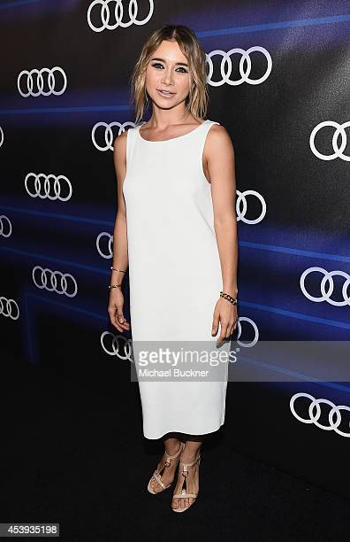 Actress Olesya Rulin attends Audi's Celebration of Emmys Week 2014 at Cecconi's Restaurant on August 21 2014 in Los Angeles California