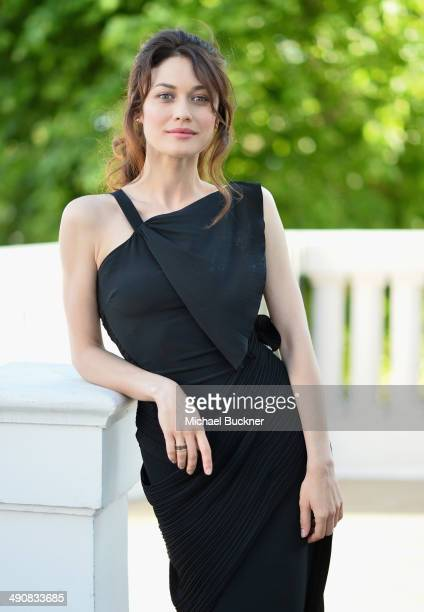 Actress Olga Kurylenko attends a presentation of 'The Water Diviner' at the 67th Annual Cannes Film Festival on May 15 2014 in Cannes France