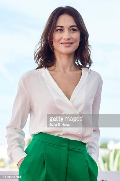 Actress Olga Kurylenko attends photocall of 'The Room' on October 07 2019 in Sitges Spain