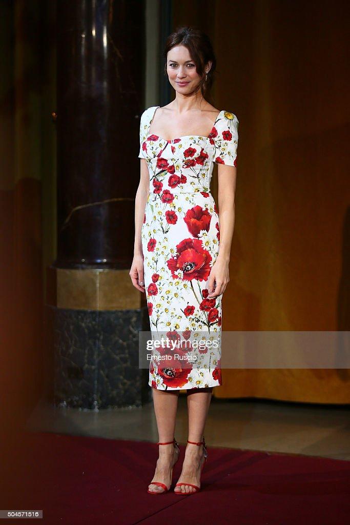 Actress Olga Kurylenko attends the 'La Corrispondenza' photocall at Hotel St Regis on January 11, 2016 in Rome, Italy.