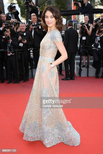 "Actress Olga Kurylenko attends ""The Meyerowitz Stories"" premiere during the 70th annual Cannes Film Festival at Palais des Festivals on May 21, 2017..."