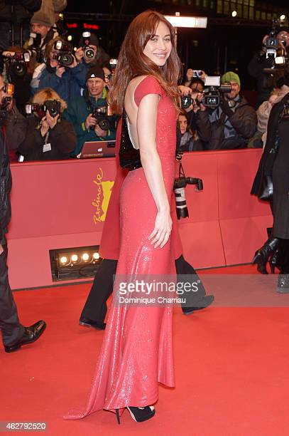 Actress Olga Kurylenko attends the 'Nobody Wants the Night' Opening Night premiere during the 65th Berlinale International Film Festival at Berlinale...