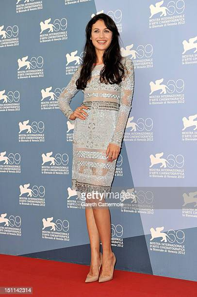 Actress Olga Kurylenko attends the To The Wonder Photocall during the 69th Venice Film Festival at the Palazzo del Casino on September 2 2012 in...