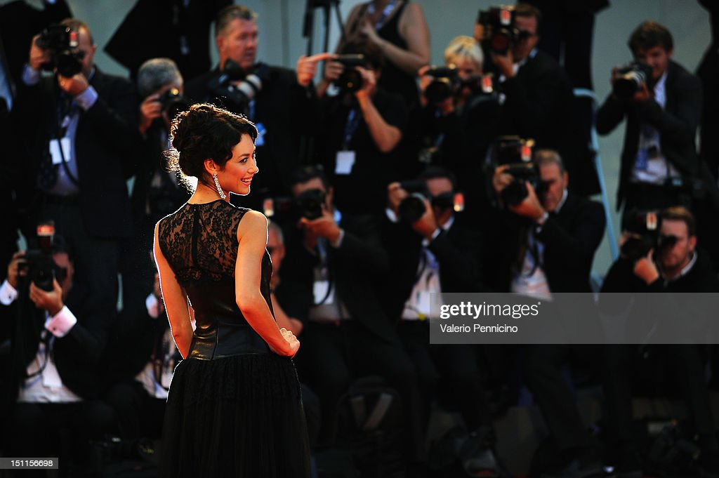 Lancia On The Red Carpet Of The 69th Venice Film Festival - September 2, 2012 : News Photo