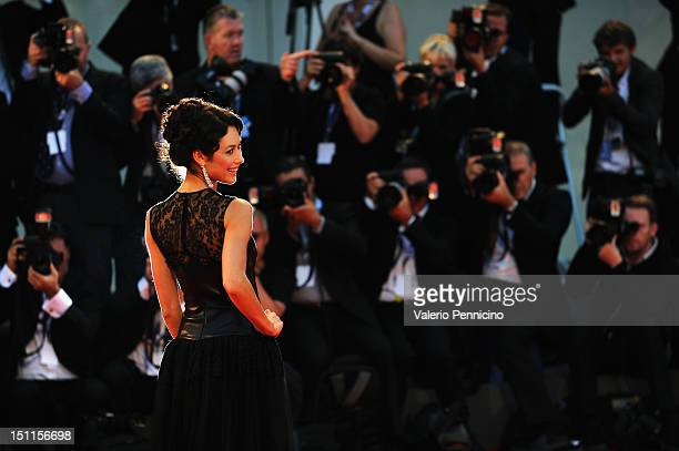 Actress Olga Kurylenko attends the 'To The Wonder' Premiere during the 69th Venice Film Festival at the Palazzo del Cinema on September 2 2012 in...