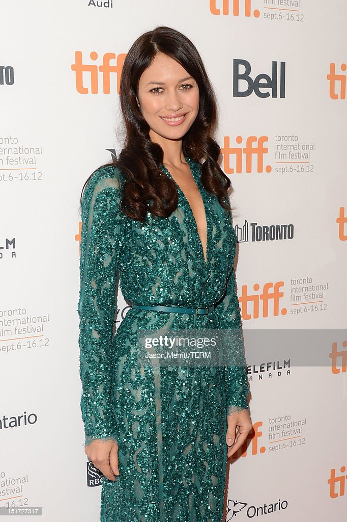 Actress Olga Kurylenko attends the 'To The Wonder' premiere during the 2012 Toronto International Film Festival at the Princess of Wales Theatre on September 10, 2012 in Toronto, Canada.
