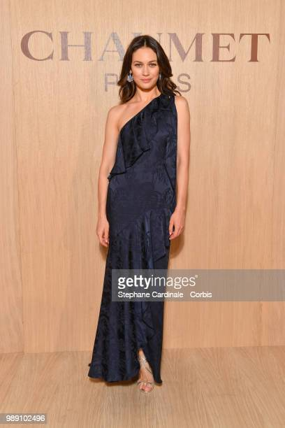 Actress Olga Kurylenko attends the 'Tresors d'Afrique' Unvelling Of Chaumet High Jewelry Party as part of Haute Couture Paris Fashion Week on July 1...