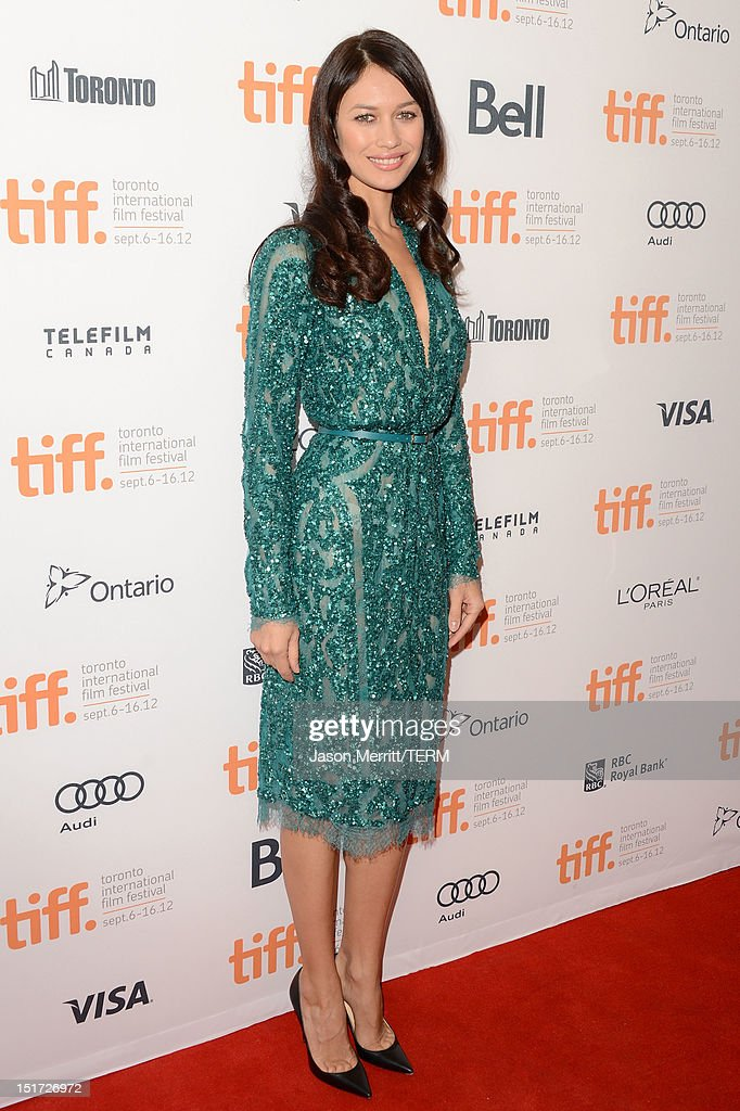 Actress Olga Kurylenko attends 'To The Wonder' premiere during the 2012 Toronto International Film Festival at Princess of Wales Theatre on September 10, 2012 in Toronto, Canada.