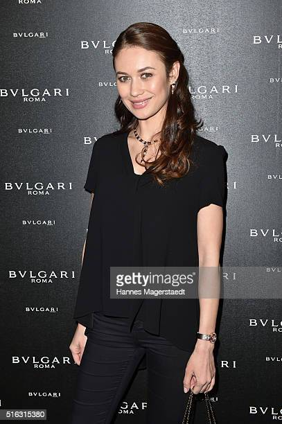 Actress Olga Kurylenko during Bvlgari Press Breakfast at Baselworld 2016 on March 17 2016 in Basel Switzerland