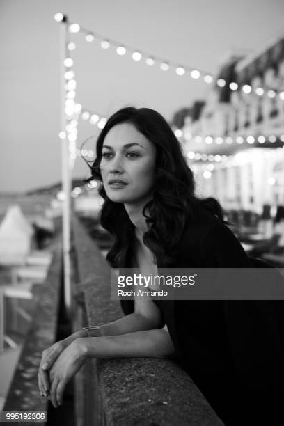 Actress Olga Kurylenko is photographed for Self Assignment on June 2018 in Cabourg France