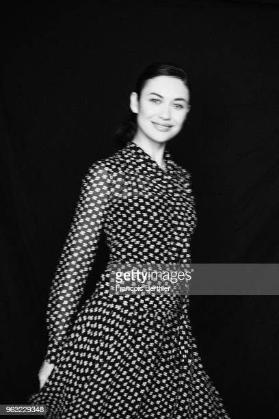 Actress Olga Kurylenko is photographed for Self Assignment on May 2018 in Cannes France