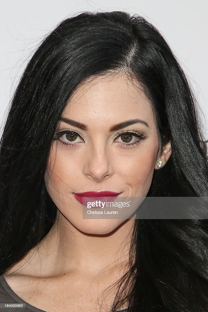 Actress Olivia Alexander attends Rob Zombie's Great American Nightmare VIP opening night party at Pomona FEARplex on October 10, 2013 in Pomona, California.