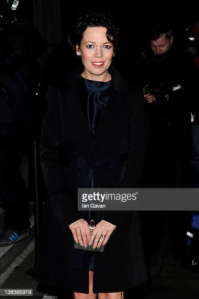 Actress Olivia Colman attends the London Evening Standard British Film Awards 2012 at the London Film Museum on February 6 2012 in London England