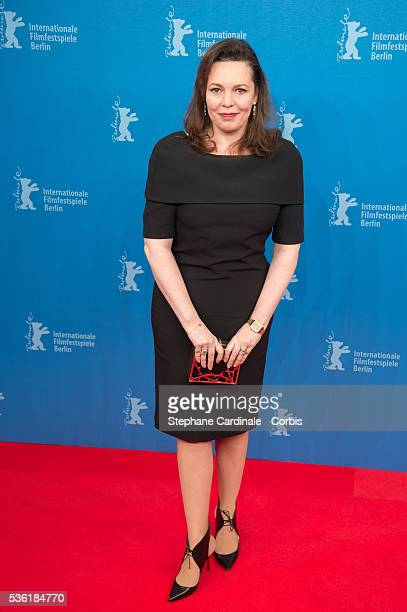 Actress Olivia Colman attends the 'The Night Manager' premiere during the 66th Berlinale International Film Festival Berlin at Haus der Berlinale on...