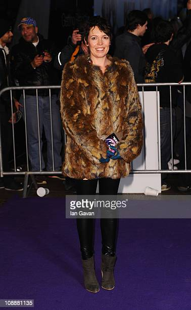 Actress Olivia Colman attends the World Film Premiere of 'Paul' at the Empire Leicester Square on February 7 2011 in London England