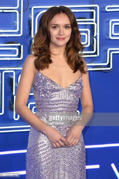 Actress Olivia Cooke attends the European Premiere of 'Ready Player One' at Vue West End on March 19 2018 in London England