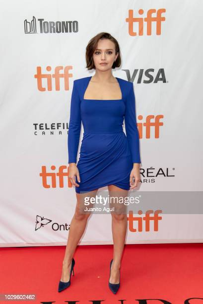 Actress Olivia Cooke attends the 'Life Itself' premiere during the 2018 Toronto International Film Festival at Roy Thomson Hall on September 8 2018...
