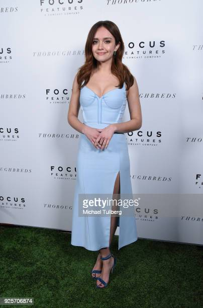 Actress Olivia Cooke attends the premiere of Focus Features' Thoroughbreds at Sunset Marquis Hotel on February 28 2018 in West Hollywood California