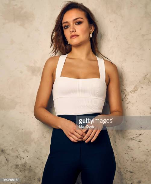 Actress Olivia Cooke is photographed for Back Stage on February 5 2018 in New York City PUBLISHED IMAGE