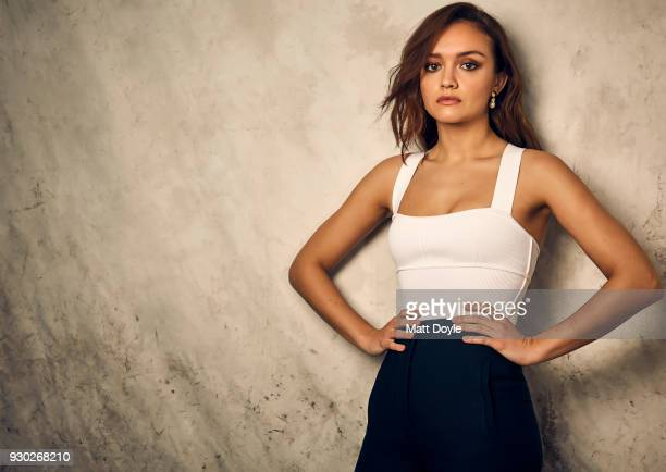 Actress Olivia Cooke is photographed for Back Stage on February 5 2018 in New York City