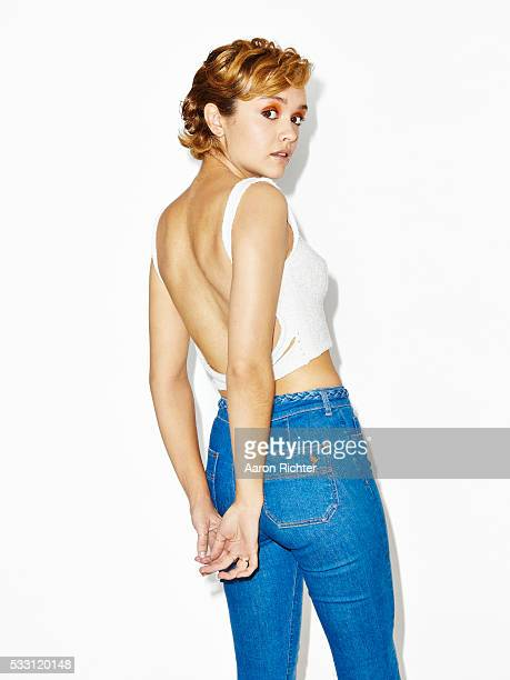Actress Olivia Cooke is photographed for Refinery29 in 2015 in New York City PUBLISHED IMAGE
