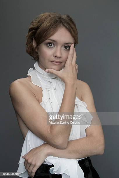 Actress Olivia Cooke is photographed for Self Assignment on August 14 2015 in Locarno Switzerland
