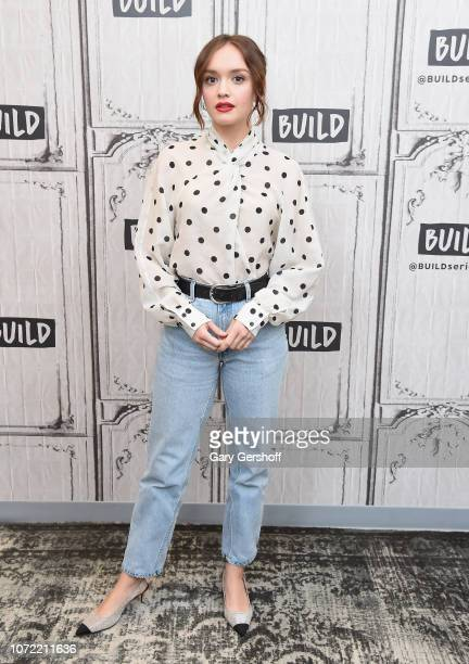 Actress Olivia Cooke visits Build Series to discuss the Amazon Prime show 'Vanity Fair' at Build Studio on December 12 2018 in New York City