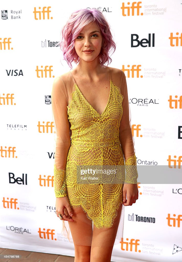 Actress Olivia Crocicchia attends the 'Men, Women & Children' premiere during the 2014 Toronto International Film Festival at Ryerson Theatre on September 6, 2014 in Toronto, Canada.