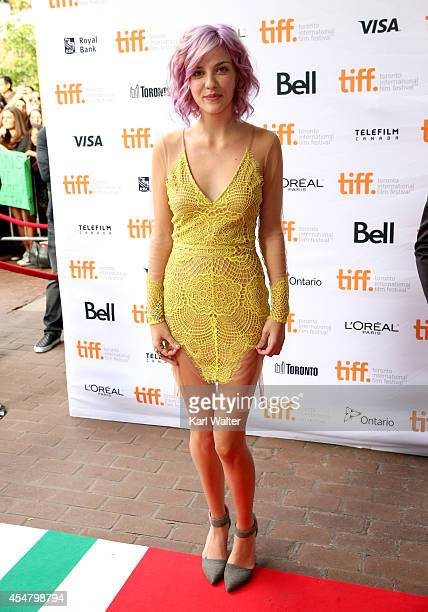 Actress Olivia Crocicchia attends the Men Women Children premiere during the 2014 Toronto International Film Festival at Ryerson Theatre on September...