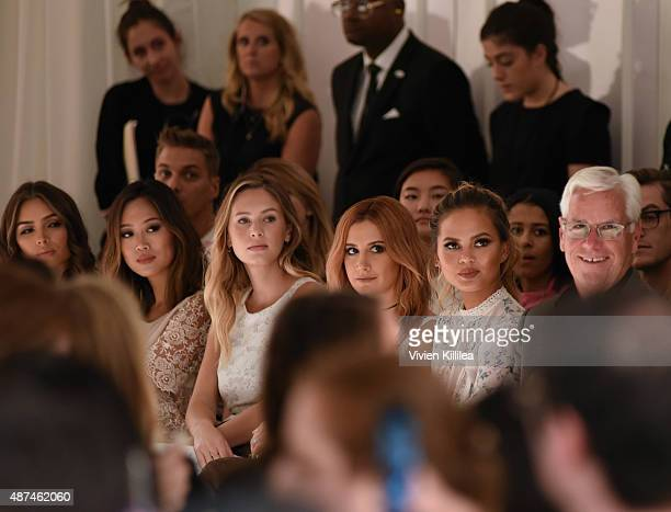 Actress Olivia Culpo Aimee Song model Dylan Frances Penn actress Ashley Tisdale model Chrissy Teigen and Chief Executive Officer of Kohl's...