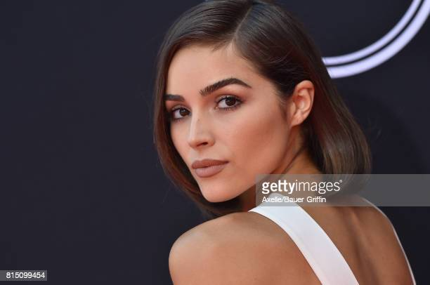Actress Olivia Culpo arrives at the 2017 ESPYS at Microsoft Theater on July 12 2017 in Los Angeles California