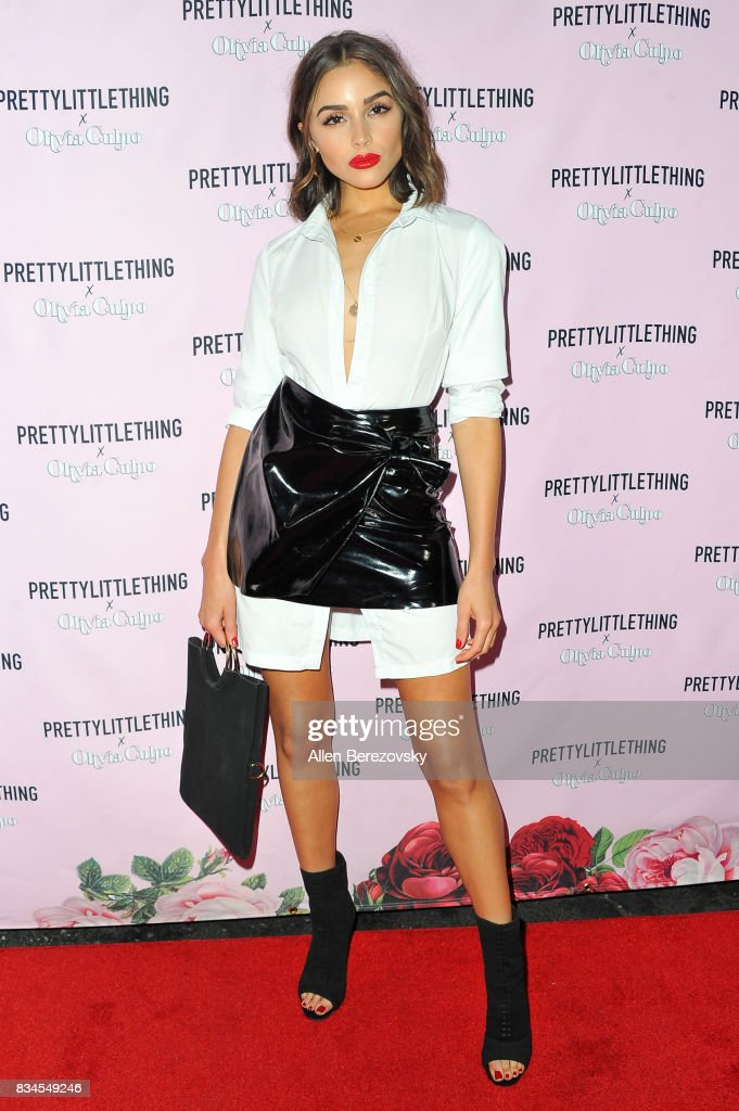 Actress Olivia Culpo attends PrettyLittleThing X Olivia Culpo Launch at Liaison Lounge on August 17, 2017 in Los Angeles, California.