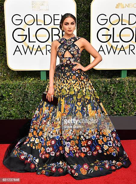 Actress Olivia Culpo attends the 74th Annual Golden Globe Awards at The Beverly Hilton Hotel on January 8 2017 in Beverly Hills California