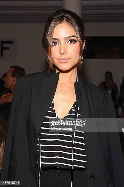Actress Olivia Culpo attends the Marissa Webb fashion show during Spring 2016 MADE Fashion Week at Milk Studios on September 10 2015 in New York City