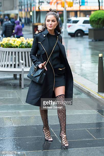 Actress Olivia Culpo is seen in Midtown on May 1 2016 in New York City