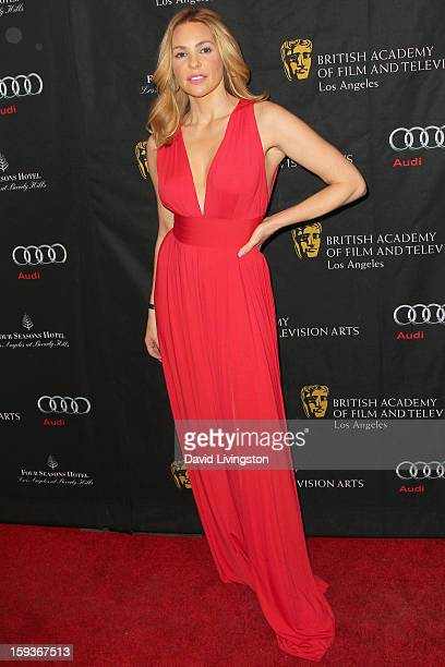 Actress Olivia d'Abo arrives at the BAFTA Los Angeles 2013 Awards Season Tea Party held at the Four Seasons Hotel Los Angeles on January 12 2013 in...