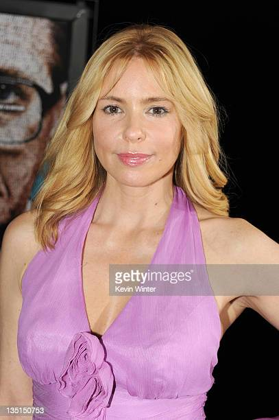 Actress Olivia d'Abo arrives at the premiere of Focus Features' Tinker Tailor Soldier Spy at Arclight Cinema's Cinerama Dome on December 6 2011 in...