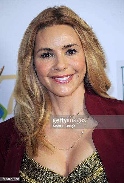 Actress Olivia D'Abo arrives for the 17th Annual Women's Image Awards held at Royce Hall UCLA on February 10 2016 in Westwood California