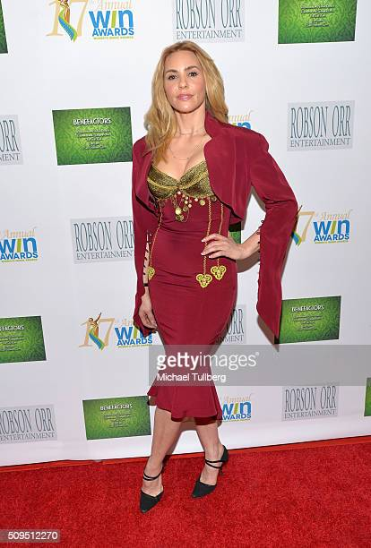 Actress Olivia D'Abo attends 17th Annual Women's Image Awards at Royce Hall UCLA on February 10 2016 in Westwood California
