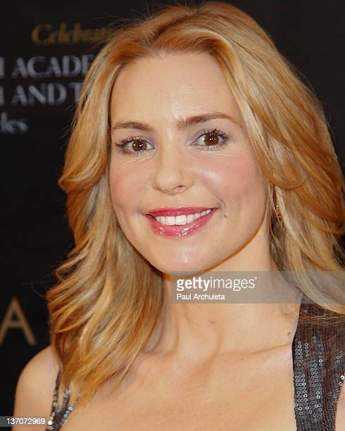 Actress Olivia d'Abo attends the 18th annual BAFTA tea party for the Los Angeles awards season at Four Seasons Hotel Los Angeles at Beverly Hills on...