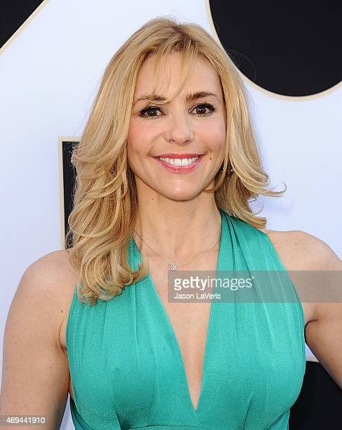 Actress Olivia d'Abo attends the 2015 TV LAND Awards at Saban Theatre on April 11, 2015 in Beverly Hills, California.